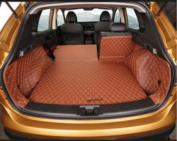 Brand New dla Nissan Qashqai 2016 5 sztuk wysokiej jakości samochodów mata do bagażnika wewnątrz maty PU skóra Pad akcesoria samochodowe