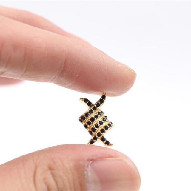 Купить модные бусины nadeem с микрозакрепкой из фианита искусственные