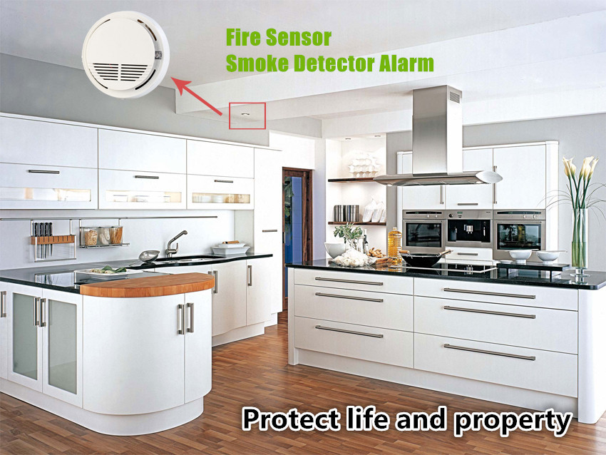 Kitchen Smoke Detector American Standard Quince Faucet Stand Alone 433mhz Wireless Fire Alarm Sensor For Library Finance Room Warehouse Sm 100 On Aliexpress Com Alibaba Group