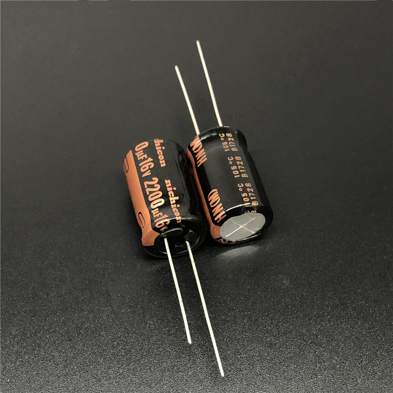 10pcs 2200uF 16V NICHICON HN Series Ultra Low Impedance 12.5x20mm 16V2200uF Motherboard Capacitor
