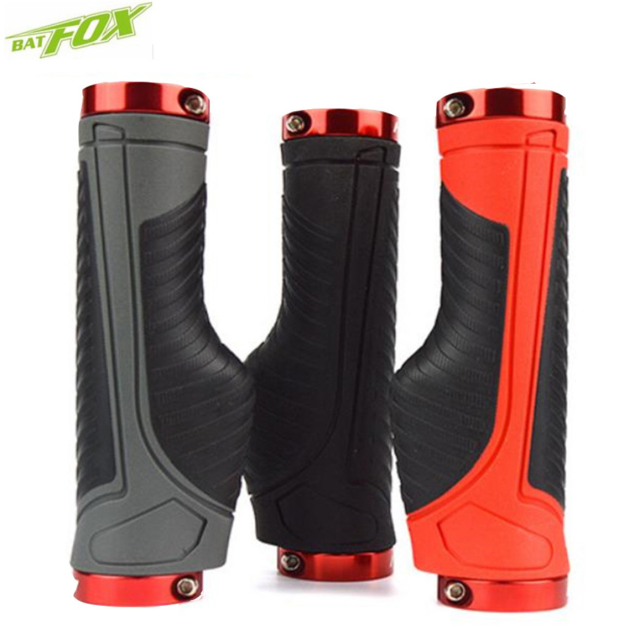 BATFOX Mtb Grips Bike Handlebar Grips Flu For Scooter Grips Bicycle 13cm Silicone Cuffs Mtb Handles For Scooter Handvatten Fiets