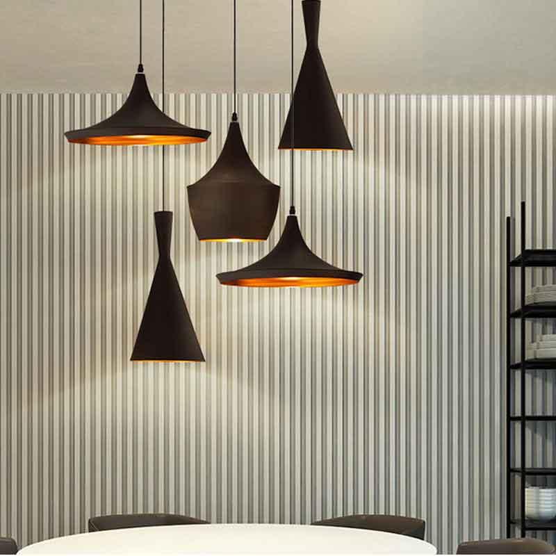 HTB1FnDDXh rK1RkHFqDq6yJAFXa5 Vintage Pendant Lights Loft Lamp Nordic Hanging Restaurant Kitchen Light Gold Inner Finish Luminaire Home Industrial Lighting
