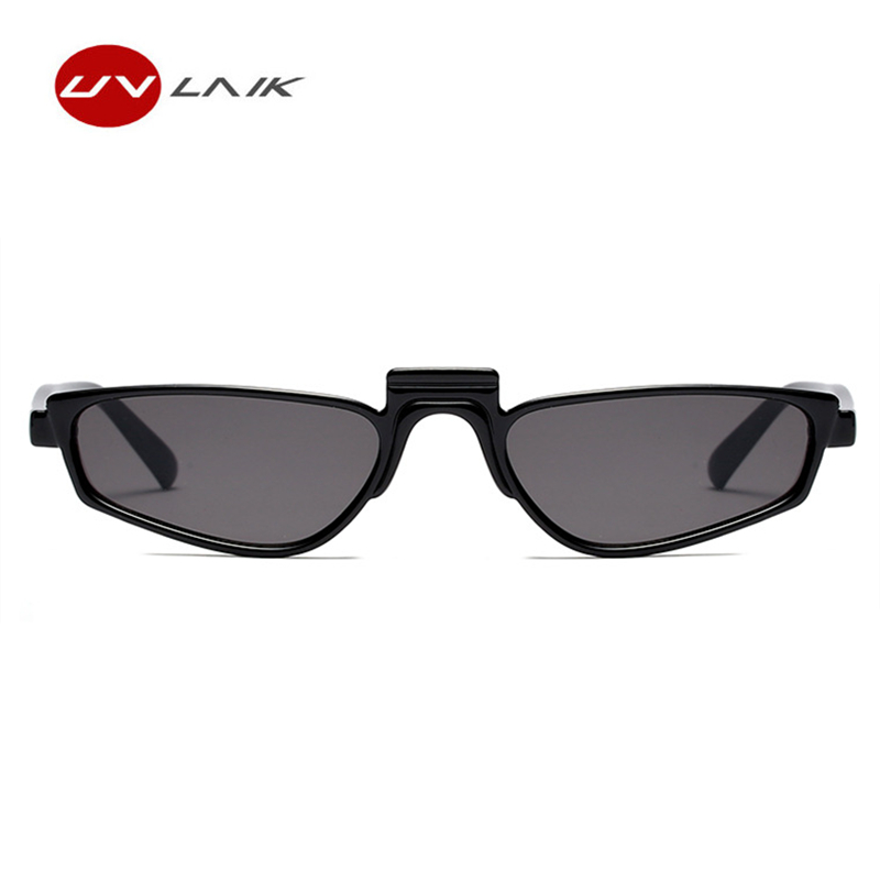 UVLAIK Fashion Small Sunglasses for Women Unique Design