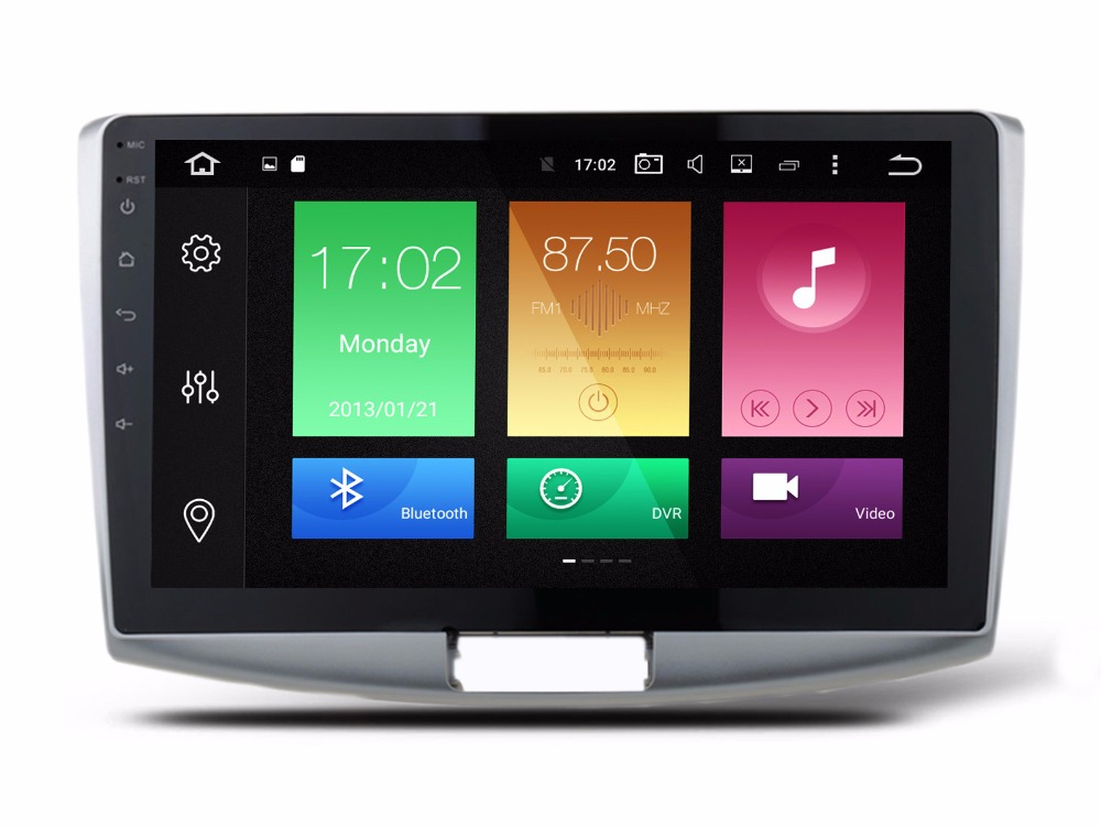 imágenes para 2G RAM 32G ROM Android 6.0 Auto Estéreo Multimedia Para Volkswagen Passat B7 B6 CC 2012-2016 GPS Navi WIFI 4G BT 4.0 RDS octa-core