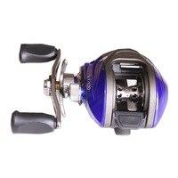 13+1BB 6.2:1 Fishing Lure Reel Bait Casting Reel Magnetic Brake Metal Spool Left Right Handed Water Drop Wheel Fishing Tackles