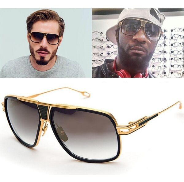 2017 Fashion Star Style Sunglasses Men Brand Designer Vintage Retro Women Sun Glasses Metal Frame Gafas Oculos De Sol R279