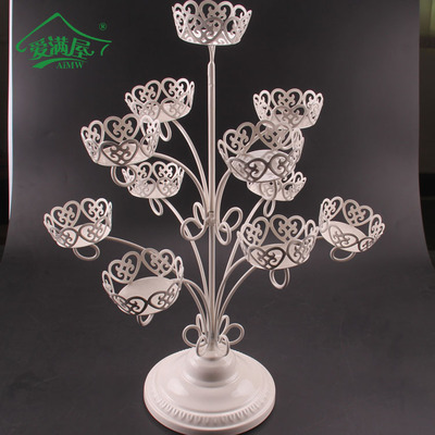 NEW 1 set 11 Cups Iron Cupcake Stand Birthday Party Hotel Cake Decoration Wedding Towers Tree