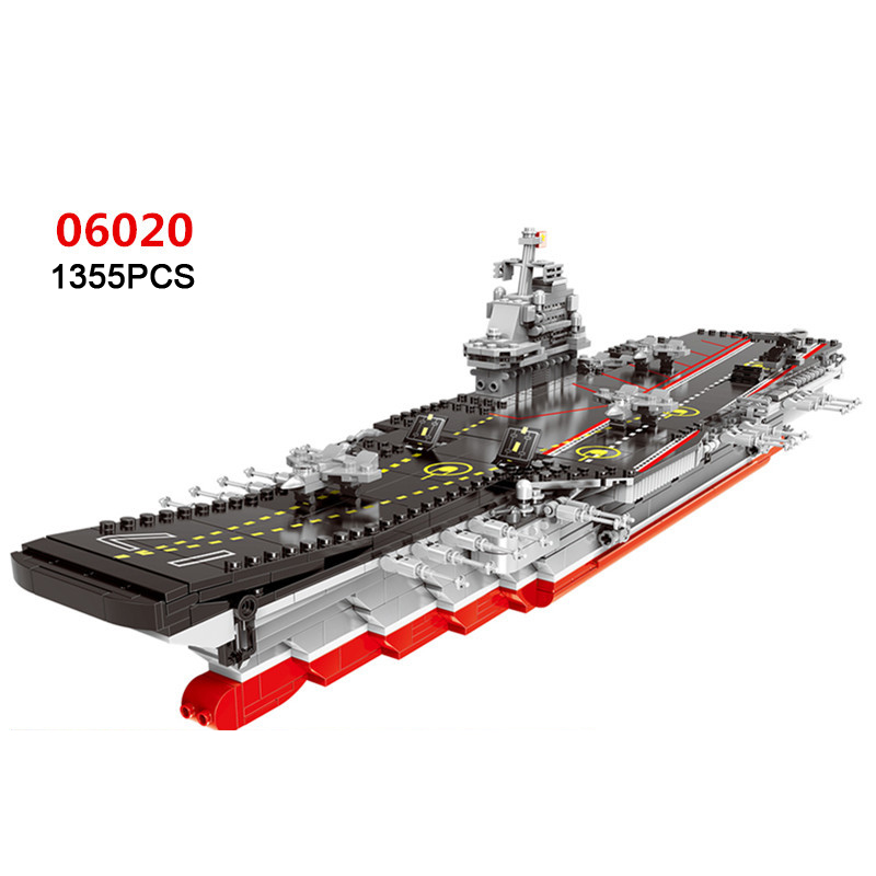 Hot modern military China aircraft liangning Varyag carrier moc building block 1:525 scale model 1355pcs bricks toys collection hot modern military china aircraft liangning varyag carrier moc building block 1 525 scale model 1355pcs bricks toys collection