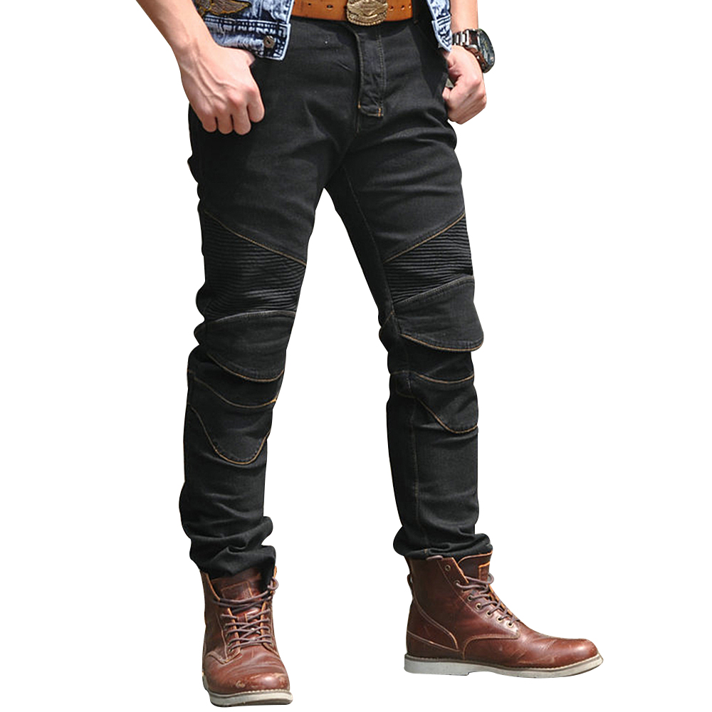 2018 NEW Motorcycle Pants Men Moto Jeans Protective Gear Riding Touring Motorbike Trousers Pants Motocross Pantalon Moto Pants distressed blue jeans men latin cow brand clothing mid stripe luxury denim destoyed men s moto biker jeans ripped uomo 802 c