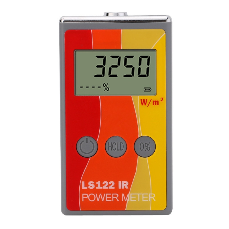 LS122 IR Solar Power Meter infrared intensity with Rejection Value Energy Tester