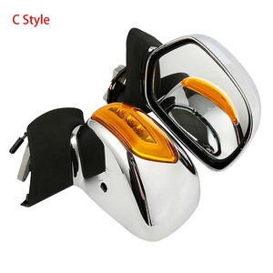 Image 4 - Motorcycle Rear View Mirror With Turn Signal For Honda Goldwing GL1800 2001 2012 2011 2010 Accessories