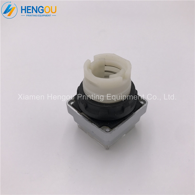 10 pieces Hengoucn ink push button shell 00 780 2321 offset spare parts white color