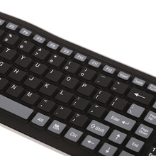 Flexible Water Resistant Wireless Keyboard