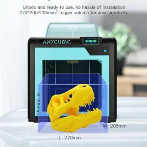 Image 2 - طابعة Anycubic ثلاثية الأبعاد Impresora 4Max Pro Imprimante عالية الدقة LCD مستوى سطح المكتب UM2 طابعة كبيرة الحجم ثلاثية الأبعاد الطباعة لتقوم بها بنفسك