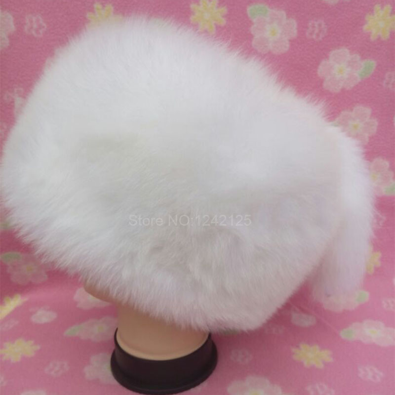 New winter women warm children fur hat parent-child real fox hat 2tails fox Mongolia fur hat cute round hat cap Skullies Beanies xthree winter wool knitted hat beanies real mink fur pom poms skullies hat for women girls hat feminino page 2