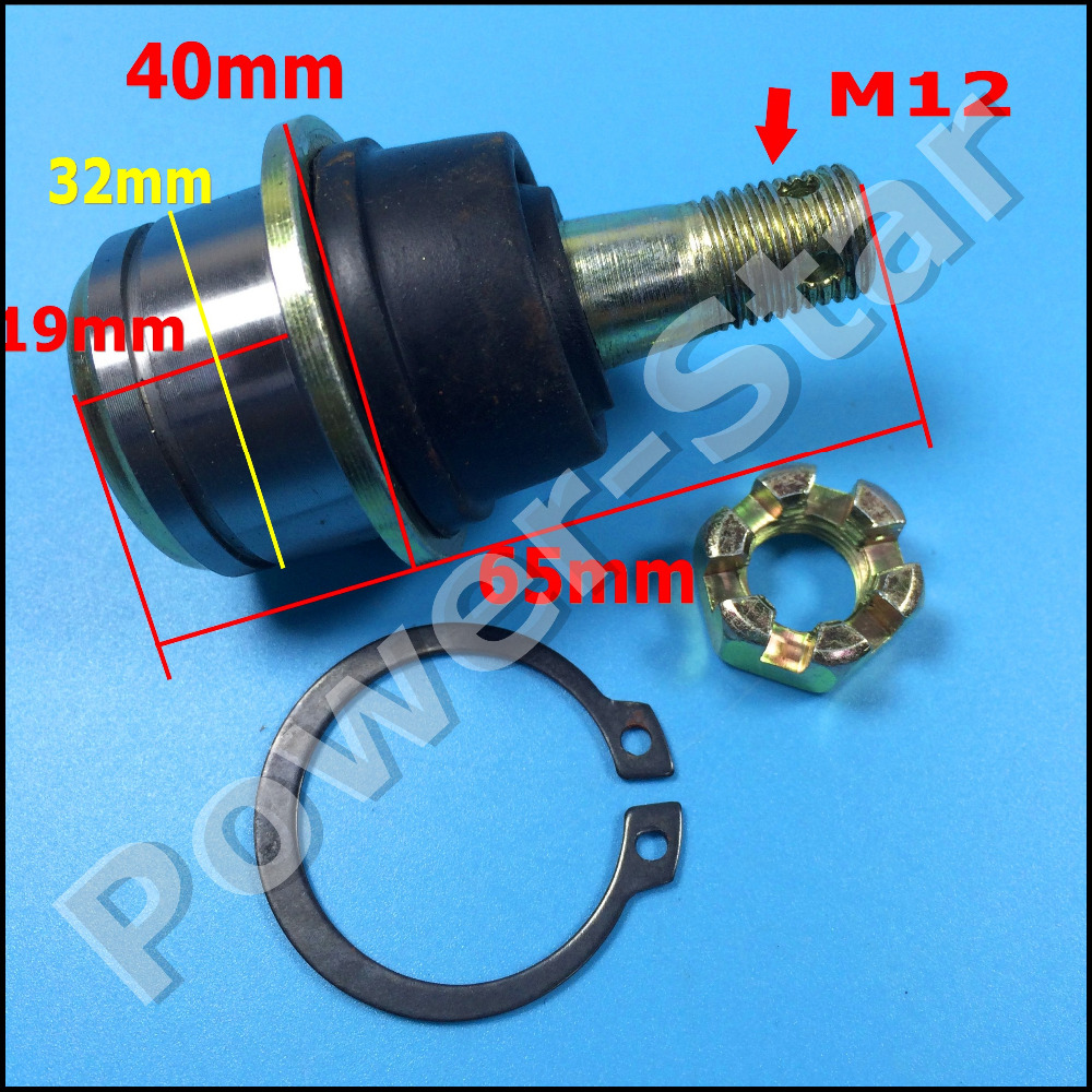 Atv,rv,boat & Other Vehicle Kazuma 110cc 500cc Falcon Dingo Quad Bike Atv Tie Rod End M12 D37 Atv Parts & Accessories