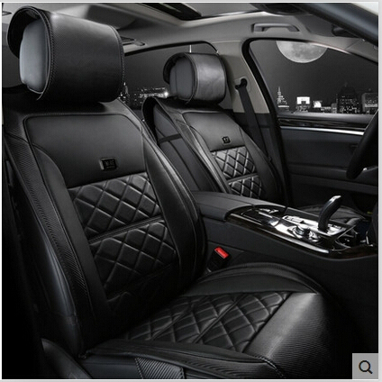 Special Car Seat Covers For Toyota Rav4 2017 2009 Fashion Carbon Fiber Leather Cover