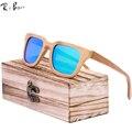 RTBOFY 2017 Óculos De Sol Dos Homens Óculos De Sol De Madeira de Bambu óculos polarizados Marca Designer Espelho Óculos De Sol de Madeira Originais Oculos ZA01
