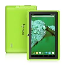 Yuntab 7-дюймовый Android 4.4 Q88 Allwinner A33 4 ядра 512 МБ 8 ГБ 1024*600 Двойная камера 2500 мАч аккумулятор 9796