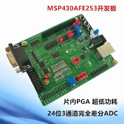 Carte de développement Msp430afe253 Msp430afe253 24 Bits ADC