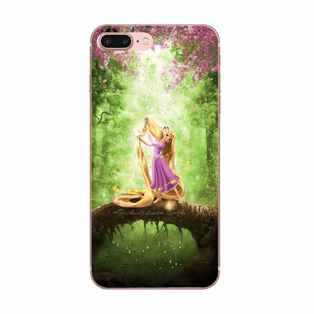 TPU macio Telefone Pele Admirável Princesa Merida E Soluço Para Galaxy J1 J2 J3 J330 J4 J5 J6 J7 J730 j8 2015 2016 2017 2018 mini Pro