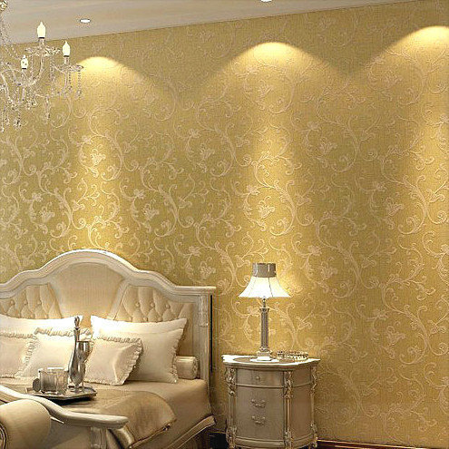 Stunning Metallic Bedroom Wallpaper Contemporary - Trends Home ...