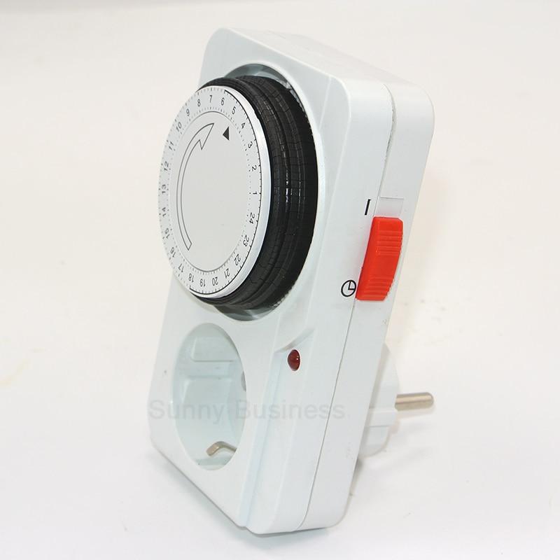 Programmable Hour Meter : Aliexpress buy eu plug mechanical timer hour counter