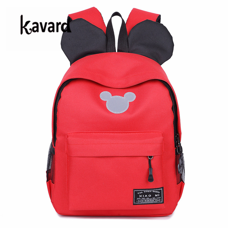 Mochila Feminina mickey SchoolBags for teenagers girl Book bags Women Backpack Canvas Bagpacks Sac a Dos Femme Rucksack Female