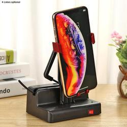 Điện Thoại Xoay Tự Động Lắc Chuyển Động Bàn Chải Bước An Toàn Wiggler Với Cáp USB Cho Wechat Chuyển Động Số Bàn Chải Bước Bộ
