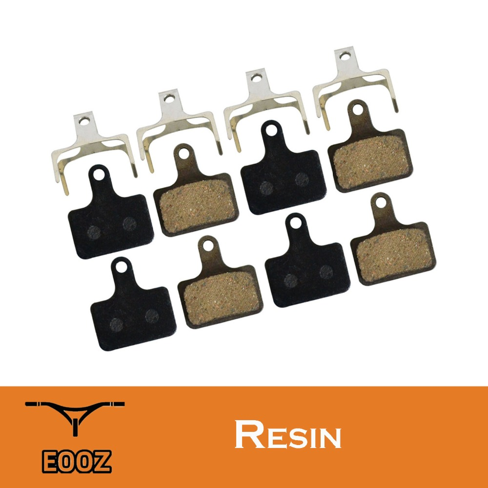 4 Pairs Semi - Metallic bicycle DISC BRAKE PADS for SHIMANO Ultegra R9170 R8070 R7070 RS805 RS505 <font><b>XTR</b></font> <font><b>M9100</b></font> / K02S REPLACEMENT image