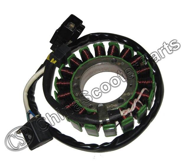 CF500 CF188 500CC stator CFmoto 500 CF600 UTV ATV QUAD Magneto coil 12 V 18 spulen 0180-032000