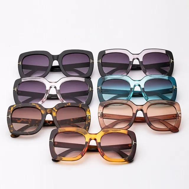 2019 New Square Oversized Sunglasses Luxury Brand Designer Women Fashion Sun Glasses For Female Male Vintage Shades Gafas Oculos
