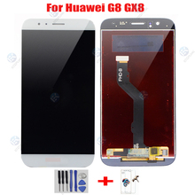 Ekran wyświetlacz LCD + dotykowy Digitizer narzędzia dla HUAWEI G8 GX8 RIO-L01 RIO-L02 RIO-L03 D199 AL00 LCD + ramka Digitizer montaż tanie tanio 1920x1080 3 Nowy Pojemnościowy ekran LCD For HUAWEI G8 ETOPLINK Capacitive Screen Oleophobic coating LCD For HUAWEI G8 Touch Assembly