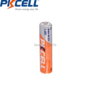 Image 4 - 4PCS/카드 PKCELL AAA 충전식 배터리 1.6V 900mWh NI ZN AAA 배터리 3A 원격 제어 라디오 손전등 LED MP3