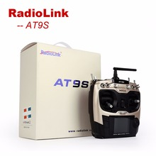 RC Helicopter FPV Controller  Radiolink AT9S 2.4GHz 9CH Radio Control Transmitter with R9DS RC Receiver