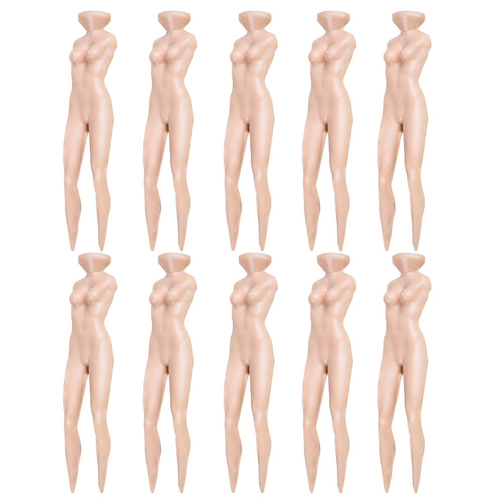 10Pcs/lot Plastic Novelty Joke Naked Nude Lady Golf Tee Practice Training Golf Tees Bulk 70mm 2 3 4 5 6 7 R Free Shipping