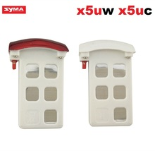 2pc Syma X5UC/X5UW RC Quadcopter/rc drone Spare Parts Accessories lipo Battery 3.7V 500mAh white/ red color