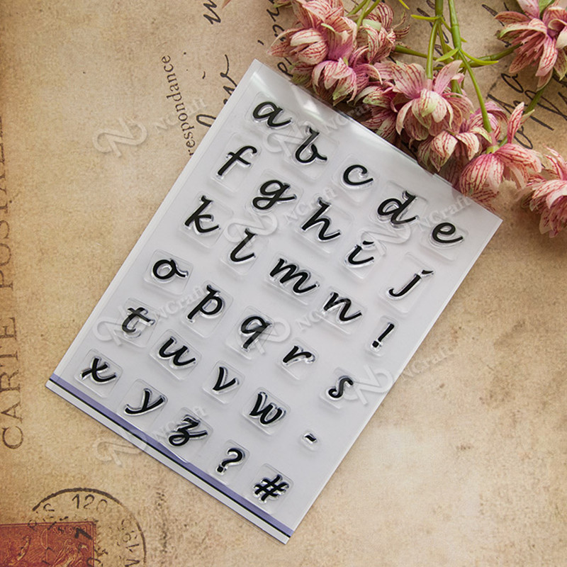 Scrapbook DIY photo cards account English alphabet  rubber stamp clear stamp transparent stamp Vintage T0230 transctego laser disco light stage led lumiere 48 in 1 rgb projector dj party sound lights mini laser lamp strobe bar lamps page 6