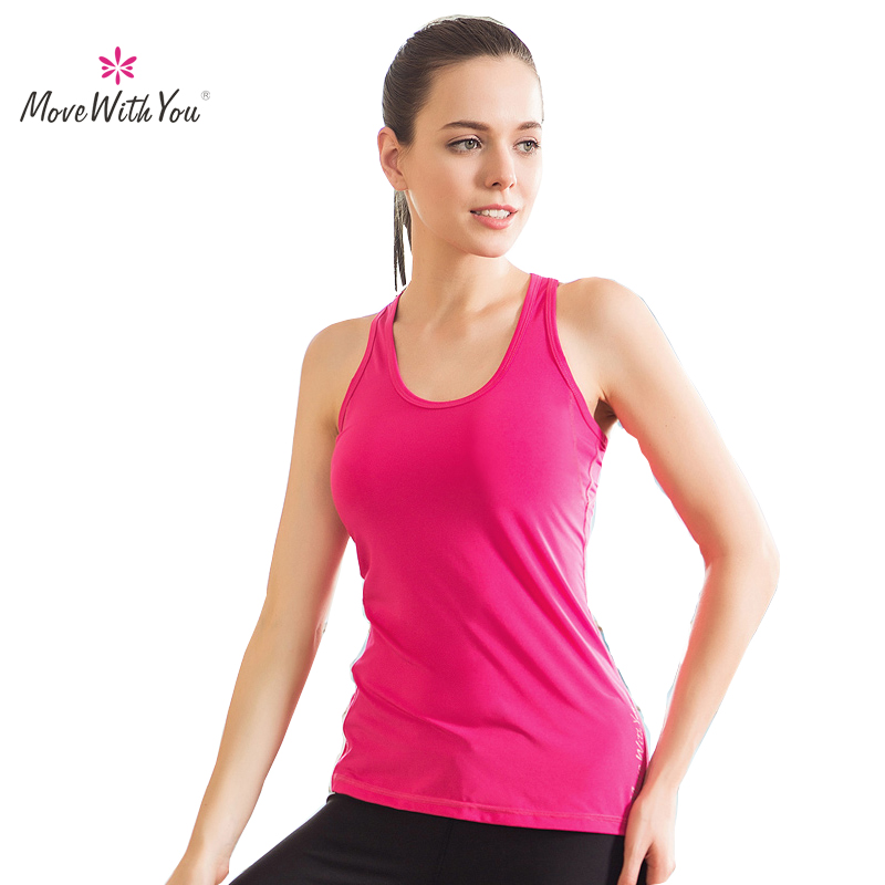Women's Fitness Yoga Top Shirt Brand With Shir Fitness