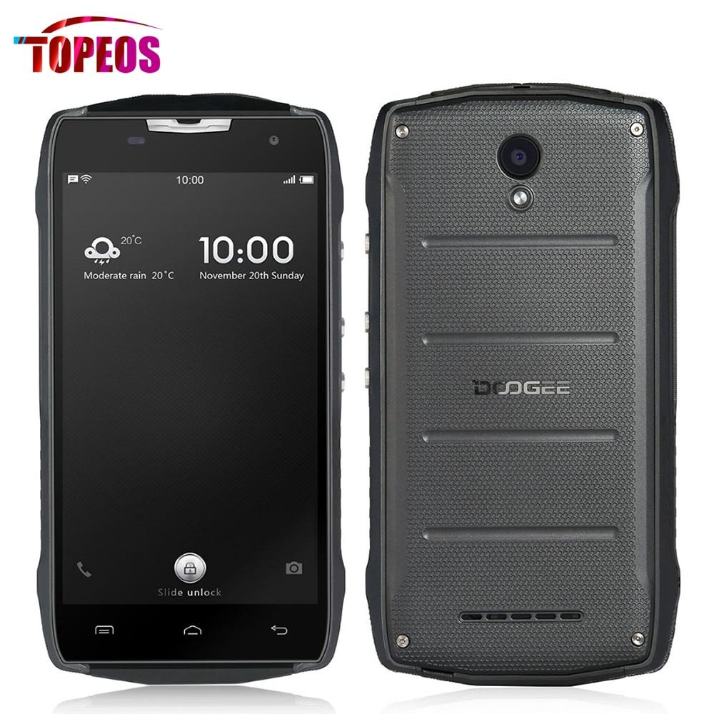 Doogee T5 Lite/T5S SmartPhone 5.0Inch MTK6735 Quad Core 1.3Ghz 2GB RAM+16GB ROM Android 6.0 IP67 Waterproof 8MP 4500mAh 4G LTE