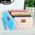 2017 Women's Long Wallet brand famous clutch wallets female card holder purse lovely fashion laddy clutch cellphone bag designer