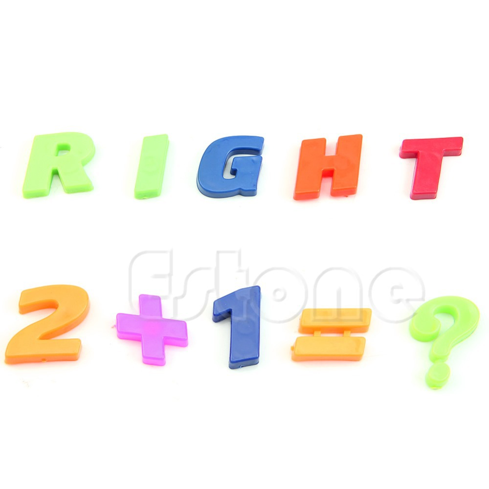 magnets teaching alphabet set of 42 colorful magnetic fridge letters numbers hxp001china