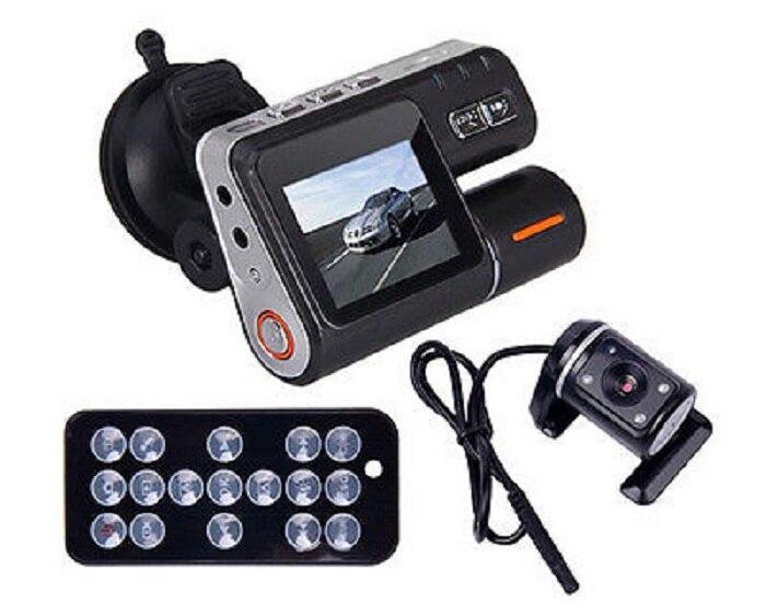 Car DVR HD DVR 120 Car Dash Cam Recorder 720P Dual font b Camera b font
