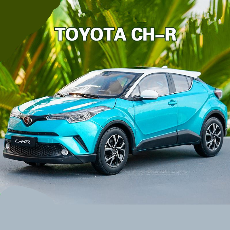 High simulation TOYOTA C-HR collection model 1:18 advanced alloy model car,diecast metal model toy vehicle,free shipping