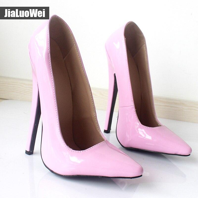 Talon Taille De Jialuowei Extreme Haute Fétiche Brevets Sexy Funtasma Pouces 36 46 Grande Chaussures Color Halloween 6 Custom Ballet 868xIFqp