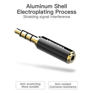 Image 4 - Prise de protection 3.5mm à 2.5mm adaptateur Audio 2.5mm mâle à 3.5mm prise femelle connecteur pour câble haut parleur Aux prise casque 3.5