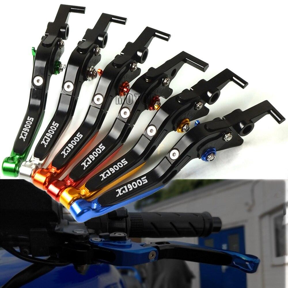 Alavancas de freio embreagem da motocicleta para yamaha xj 900 s xj 900 s xj900 s xj900s desvio 1995-2003 cnc ajustável alavanca do freio dobrável