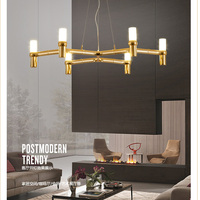 Modern Led Pendant Light For Lobby Dining Room Flower Arts Deco Lighting AC85 265V G9 Suspension