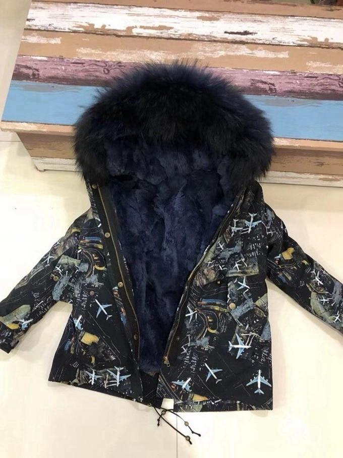 child winter real fur parkas coat (21)