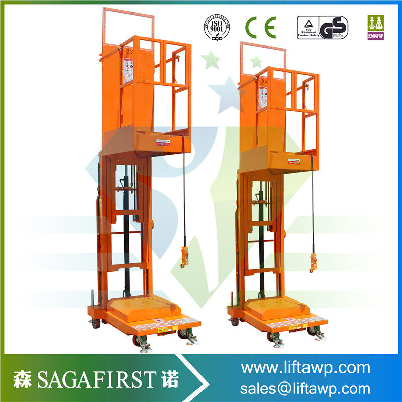 Semi Electric And Full Electric Aerial Order Picker Factory Made In China